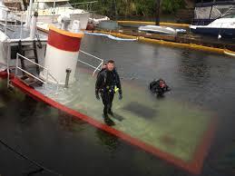Tug Boat Sinks by Tugboat Iver