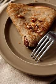 cuisine chataigne crêpes à la farine de châtaigne gourmandiseries