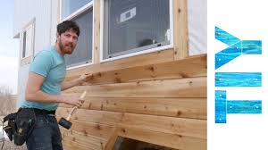 100 Cedar Siding Installing On Our Tiny House YouTube