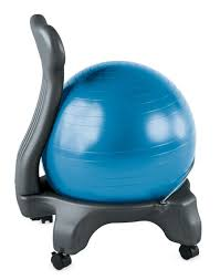 Physio Ball Chair Base by Exercise Ball Chair Sole Fitness Singapore