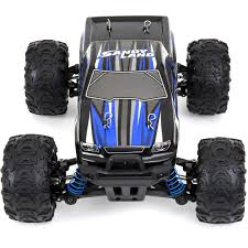 Kids Off-Road Monster Truck Toy RC Remote Control Car (Blue) – Best ...