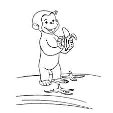 Cute Monkey Coloring Pages Images Of Photo Albums Printable