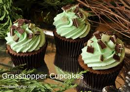 Grasshopper Cupcakes Recipe