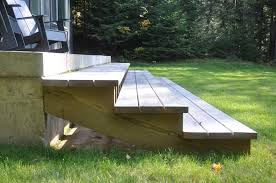 a simple deck life of an architect