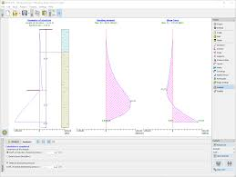 sheeting design geotechnical software geo5 fine