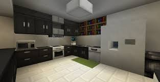 modern kitchen Minecraft Pinterest