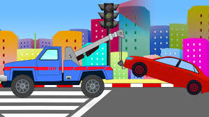 Tow Truck | Uses Of Tow Truck – Kids YouTube