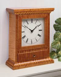 Woodworking Projects Plans Magazine by Mantel Clock Woodsmith Plans Woodshop Projects And Tips