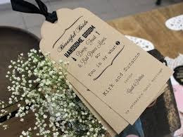 Wedding Invitations 30 New Invites To Get Your Guests Excited Rustic Tags The Knot