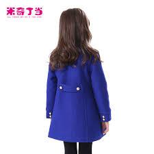 Guangzhou Kids Clothes 2014 Nepal Woolen Jacket Winter Teen Girl Coat Style Dress