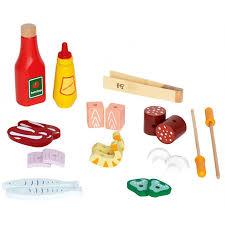 jeu de cuisine pour gar輟n bbq sur pied barbecue gril pour gourmet jouet bois jeux