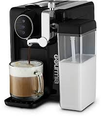 Gourmia GCM6500 One Touch Automatic Espresso Cappuccino Latte Maker Italian Engineered And Components Coffee Machine