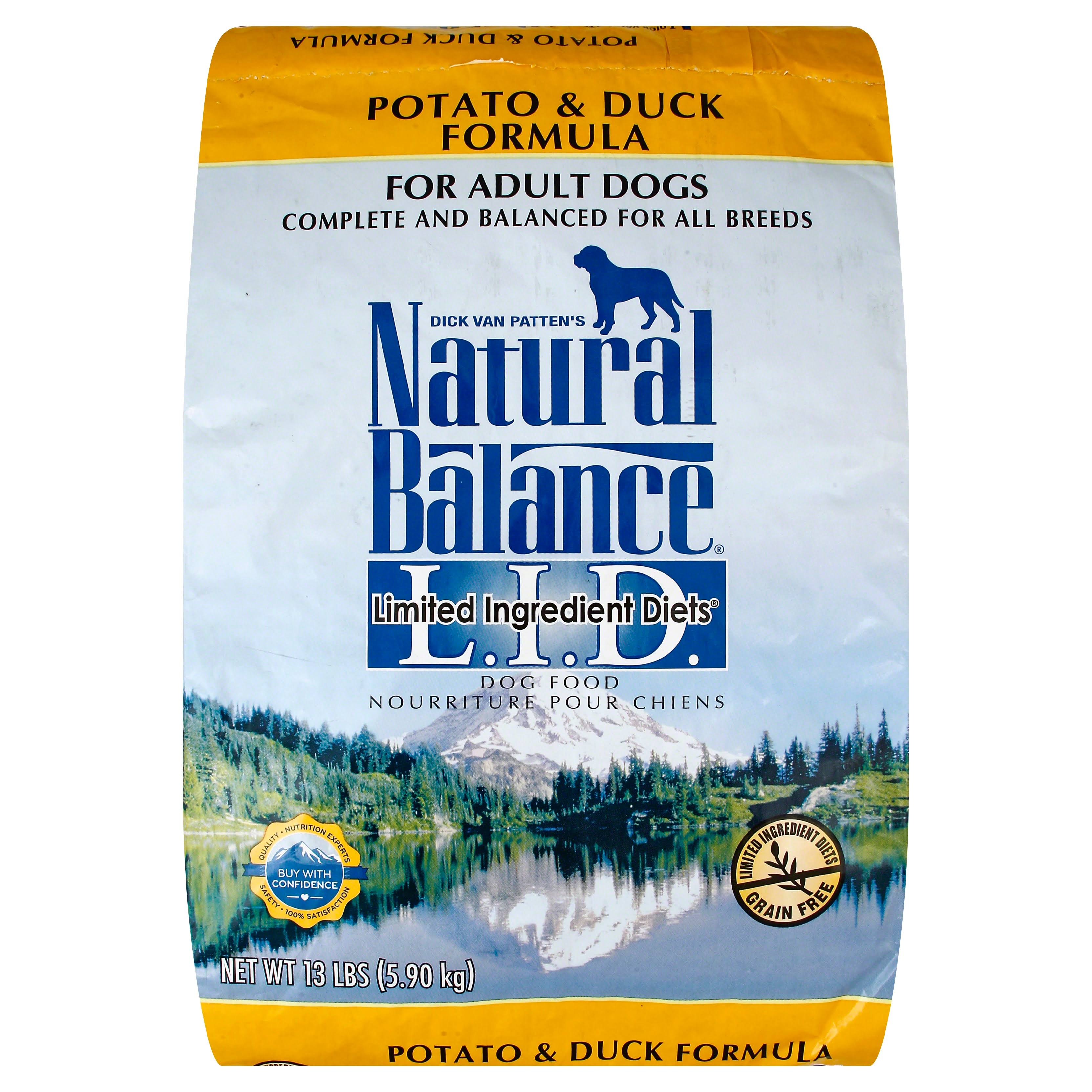 Natural Balance Dog Food - Potato and Duck