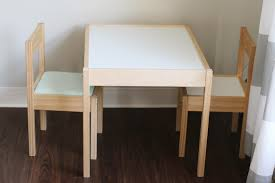 Simple IKEA LATT Children's Table Hack - Happy Messy Life Ikea Mammut Kids Table And Chairs Mammut 2 Sells For 35 Origin Kritter Kids Table Chairs Fniture Tables Two High Quality Childrens Your Pixy Home 18 Diy Latt And Hacks Shelterness Set Of Sticker Designs Ikea Hackery Ikea