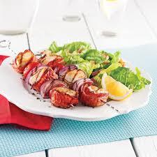 barde cuisine brochettes de poulet bardé de bacon recettes cuisine et