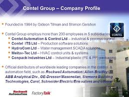 contel group company profile dec ppt download