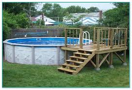 Above Ground Pool Deck Images by Ground Pool Deck Prices