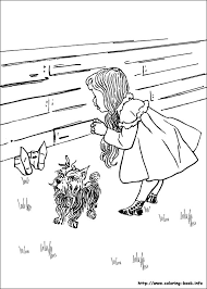 29 The Wizard Of Oz Printable Coloring Pages For Kids Find On Book Thousands