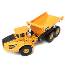 1:87 Scale Alloy Diecast Loading Unloading Dump Truck Construction ...