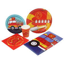 Blue Orchards Fire Truck Deluxe Party Packs (70 Pieces 16 Guests ... Tonka Titans Fire Engine Big W Buy Truck Firefighter Party Supplies Pinata Kit In Cheap Birthday Cake Inspirational Elegant Baby 5alarm Flaming Pack For 16 Guests Straws Cupcake Toppers Online Fireman Ideas At A Box Hydrant 1 And 34 Gallon Drink Dispenser Canada Detail Feedback Questions About Car Fire Truck Balloons Decor Favors Pinterest Door Sign Decorations Fighter Party I Did December