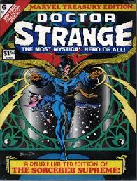 LEE STAN ED Doctor Strange Marvel Treas Edition No 6