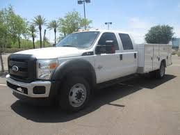 USED 2011 FORD F450 SERVICE - UTILITY TRUCK FOR SALE IN AZ #2214