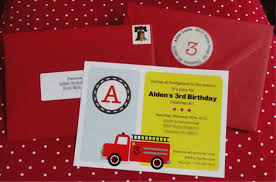 Alden's 3rd Firetruck Birthday Party - Anders Ruff Custom Designs, LLC