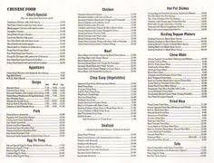 menu 1 Terrace BC Restaurants Pinterest
