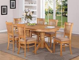 dining room decoration using rectangular cherry wood antique oak