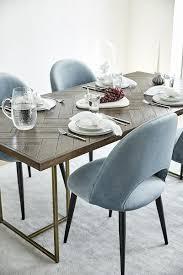 samt polsterstuhl in blau westwingnow wohnzimmer