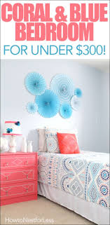 best 25 coral blue bedrooms ideas on pinterest coral color