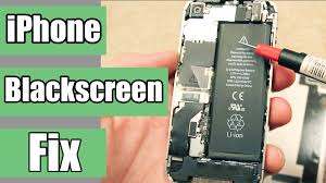 How to fix black and unresponsive iPhone screen
