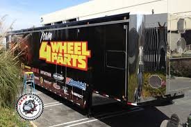 4 Wheel Parts Semi Trailer Wrap   Wrap Bullys Truck Lettering Graphics Vehicle Oakville Home Semitrucks Paradise Wraps Seattle Boat Car And Studio 3 Signs Firepoliambulance Stratford Sign Company Trailer Decals Gallery Houston Tx Saifee Semi Decals For Less Ace Co Colorado Commercial Trucks Trailers Crux Rdboardz Custom Semitruck Sticker Genius