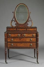 Antique Birdseye Maple Dresser With Mirror by Birdseye Maple Dresser With Mirror Oberharz