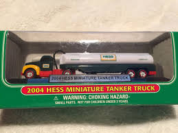 Hess - 2004 - Hess Miniature Tanker Truck - New In Box | What's It ... Amazoncom 2000 Miniature Hess First Truck In Original Unopened Hess Trucks Part Of Museum Display For Historical Society Press 2014 Toy Review Hgg14 No Time Mommy Why A Halfcenturyold Toy Remains Popular Holiday Gift The Verge Trucks Classic Toys Hagerty Articles Holiday Gift 2013 And Tractor Sp New 1990 Servco Fire Tires Mint Cdition Whats 1991 Toy Truck With Racer Games 2017 Dump Loader Ebay Miniture 2011 1999 Space Shuttle With Sallite 1984 Oil Tanker Bank