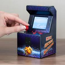 Mini Arcade Cabinet Kit Uk by Mini Desktop Arcade Machine With 240 Retro Games Built In Menkind