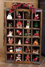 Display Your Ornament Collection In A Coke Or Dr Pepper Crate