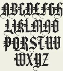 A Terrific Collection Of 6 Authentic Old English Typefaces Each Font Includes Full Punctuation