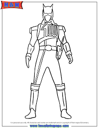 Shadow Ranger Coloring Page