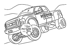 Monster Energy Monster Truck Coloring Pages | Free Coloring Pages ...