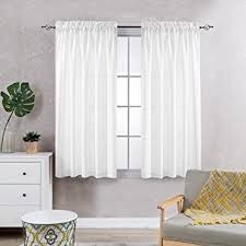 Amazon Prime Kitchen Curtains by Amazon Com Privacy Sheer Curtains For Bedroom Kitchen Window
