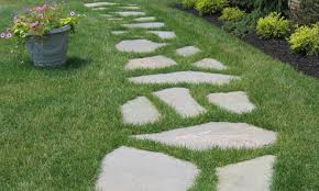 Walks - CLC Landscape Design Garden With Tropical Plants And Stepping Stones Good Time To How Lay Howtos Diy Bystep Itructions For Making Modern Front Yard Designs Ideas Best Design On Pinterest Backyard Japanese Garden Narrow Yard Part 1 Of 4 Outdoor For Gallery Bedrock Landscape Llc Creative Landscaping Idea Small Stone Affordable Path Family Hdyman Walkways Pavers Backyard Stepping Stone Lkway Path Make Your