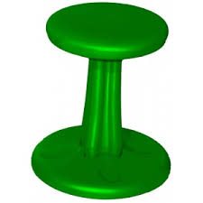kids kore wobble chair 14in green chairs furniture