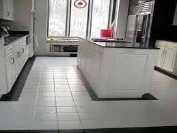 black and white tile floor kitchen white kitchen floor tile ideas
