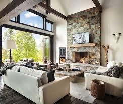Modern Rustic Home Interior Design Perfect Fromgentogen Us