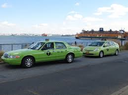 Taxi Drivers See Green As New Cabs Cruise