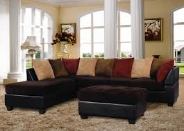 Chocolate Corduroy Sectional Sofa by Long Island Chocolate Corduroy Sectional Universal Industries