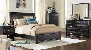Belcourt Black 7 Pc King Upholstered Bedroom King Bedroom Sets