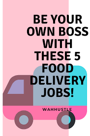Be Your Own Boss Checkout These Five Food Delivery Jobs! Earn On ... Delivery Driver Job Description For Resume Best Of Truck Box Jobs 5 Star News Five Digital Flat Service Icon Hunting Company Or Otonne Anc What You Need To Know Get A Job As Light Delivery Truck Driver How Write Perfect With Examples Amazon Plans Startup Services Its Own Packages Pin Oleh Neby Di Information Blog Pinterest Trucks Pantech Availble On All Landscape Materials Your Home Or Site Delytruckdriver Title Tshirts Hirtsshop