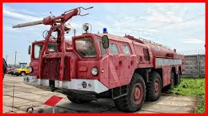 100 Airport Fire Truck Soviet Extremely Powerful Machine YouTube